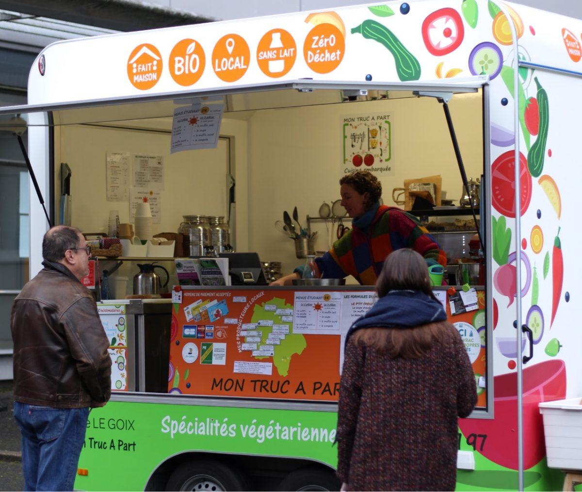 Foodtruck écolo : Adeline Le Goix fait «son truc à part»