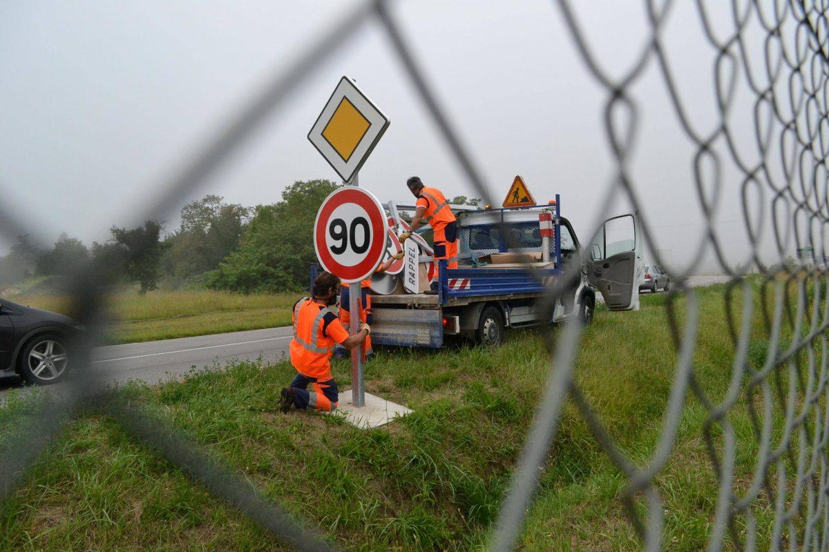 En septembre, 292 km des routes d'Indre-et-Loire repasseront à 90 km/h