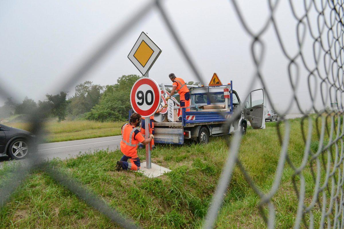 Indre-et-Loire : retour à 90 km/h pour certaines routes