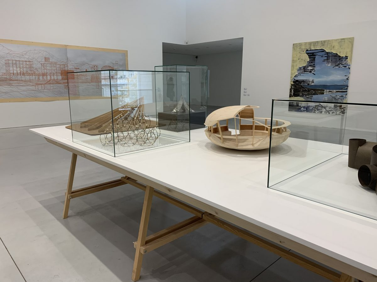 L'exposition : Olivier Debré, architecte