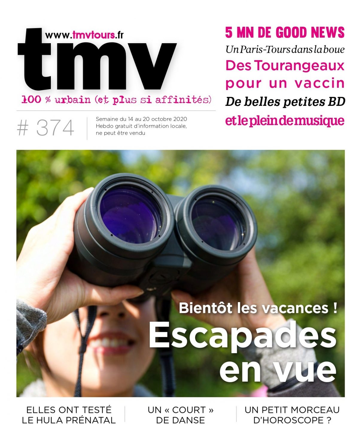 TMV du 14 au 20 octobre 2020