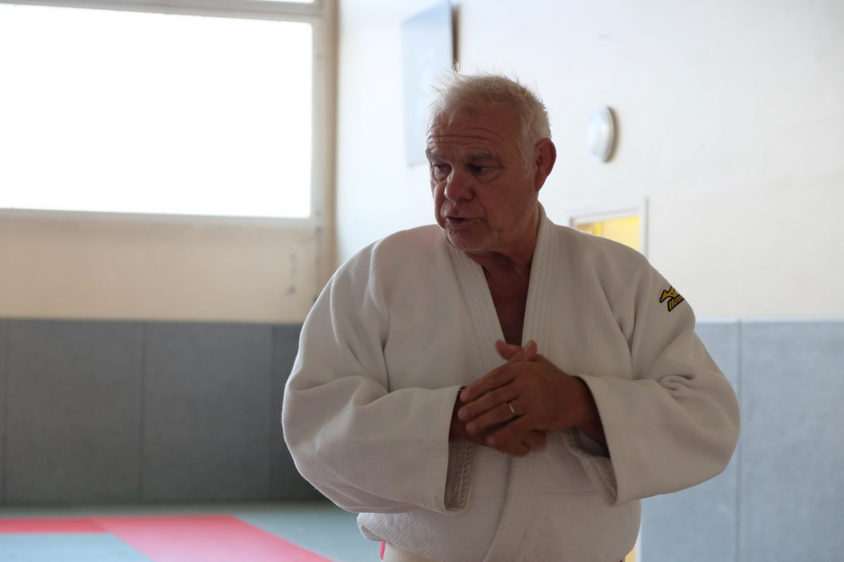 Lionel Herin, l'esprit judo depuis 40 ans