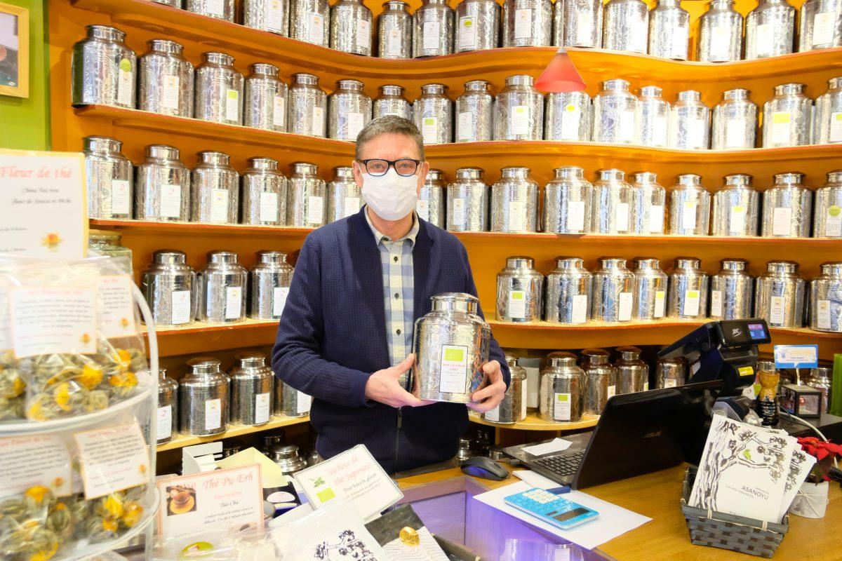 Une vie de passion au service du thé