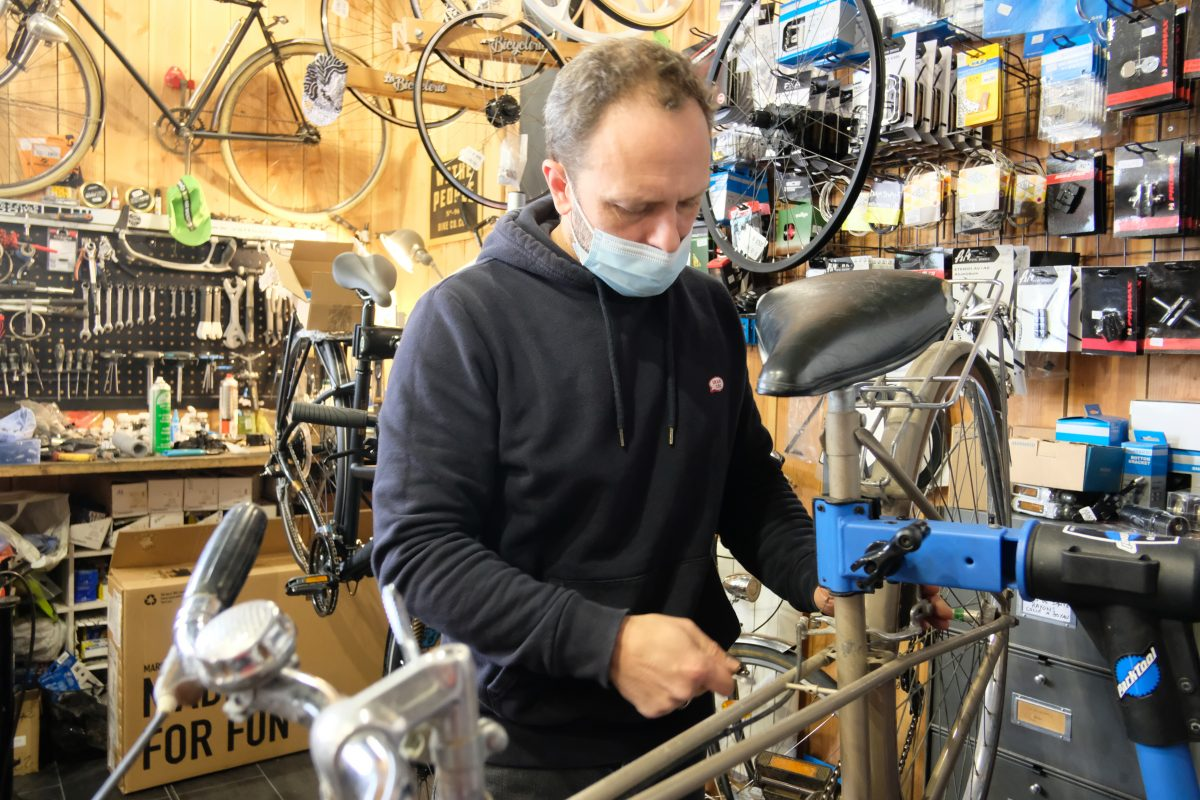 Un petit tour par le « coffee bike » La Bicyclerie