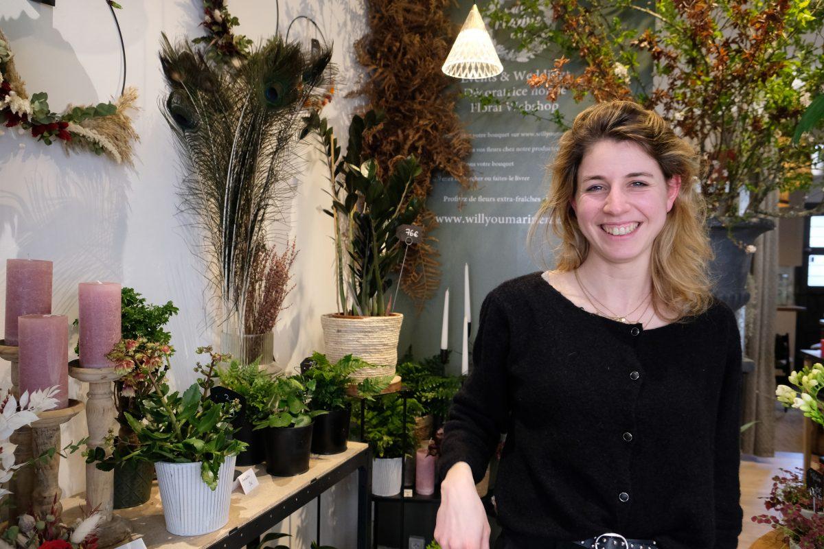 Dans l'atelier de Marine Vanpoulle, la passion des fleurs locales