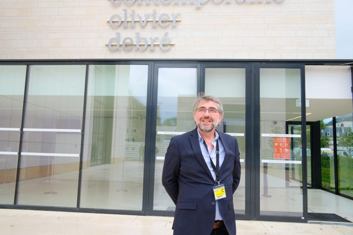 François Pérona, le sourire et l'accueil du CCCOD