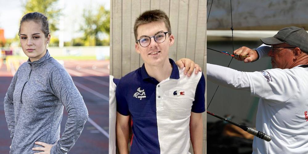 Jeux Paralympiques de Tokyo : ces trois athlètes qui représenteront l'Indre-et-Loire