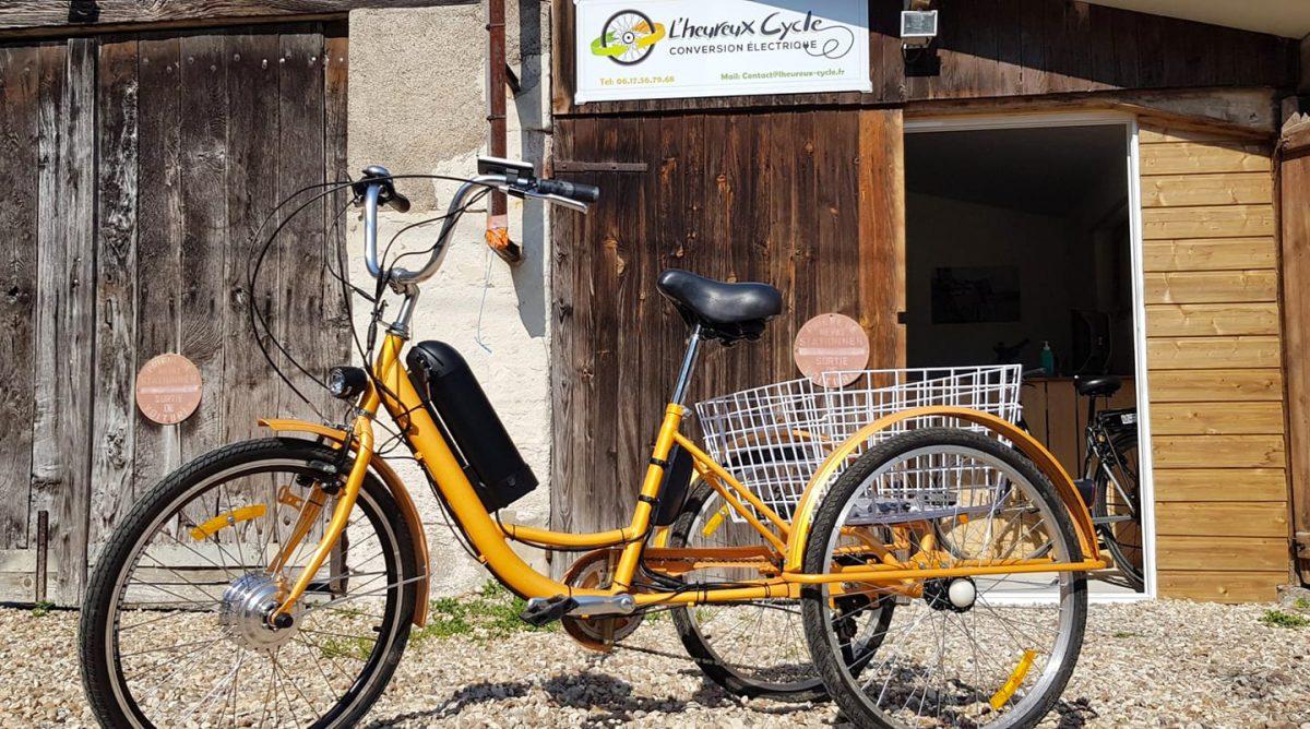 Il transforme vos vieux vélos en vélos à assistance électrique