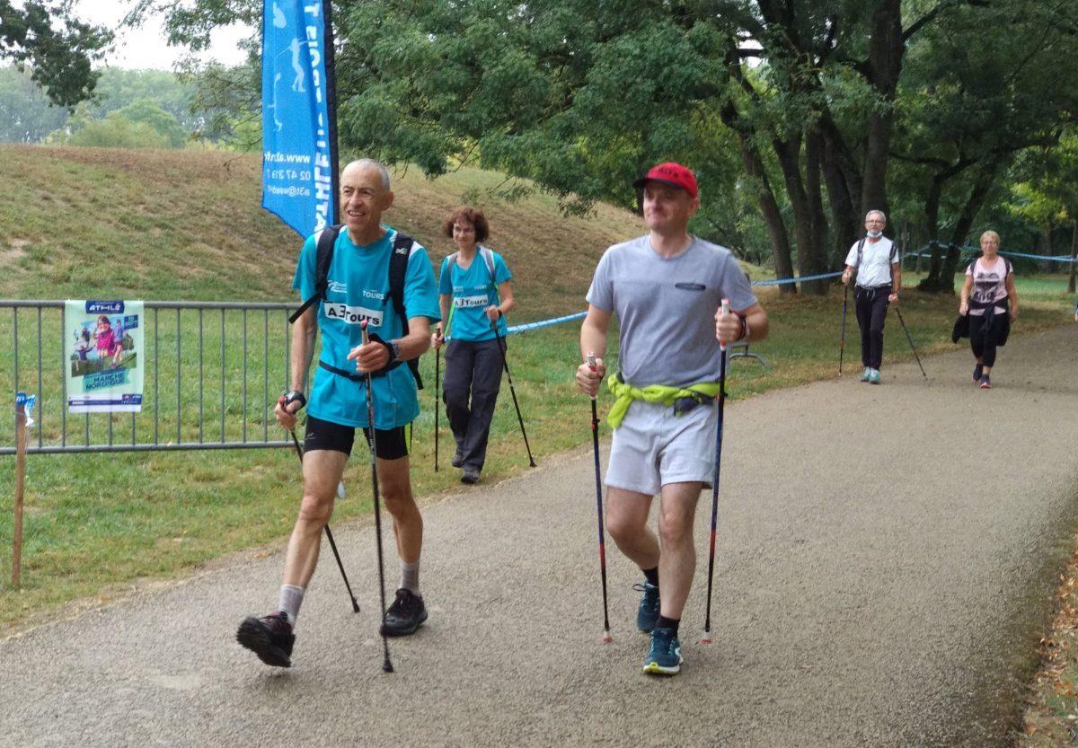 «La marche nordique sollicite 80 % des muscles du corps»