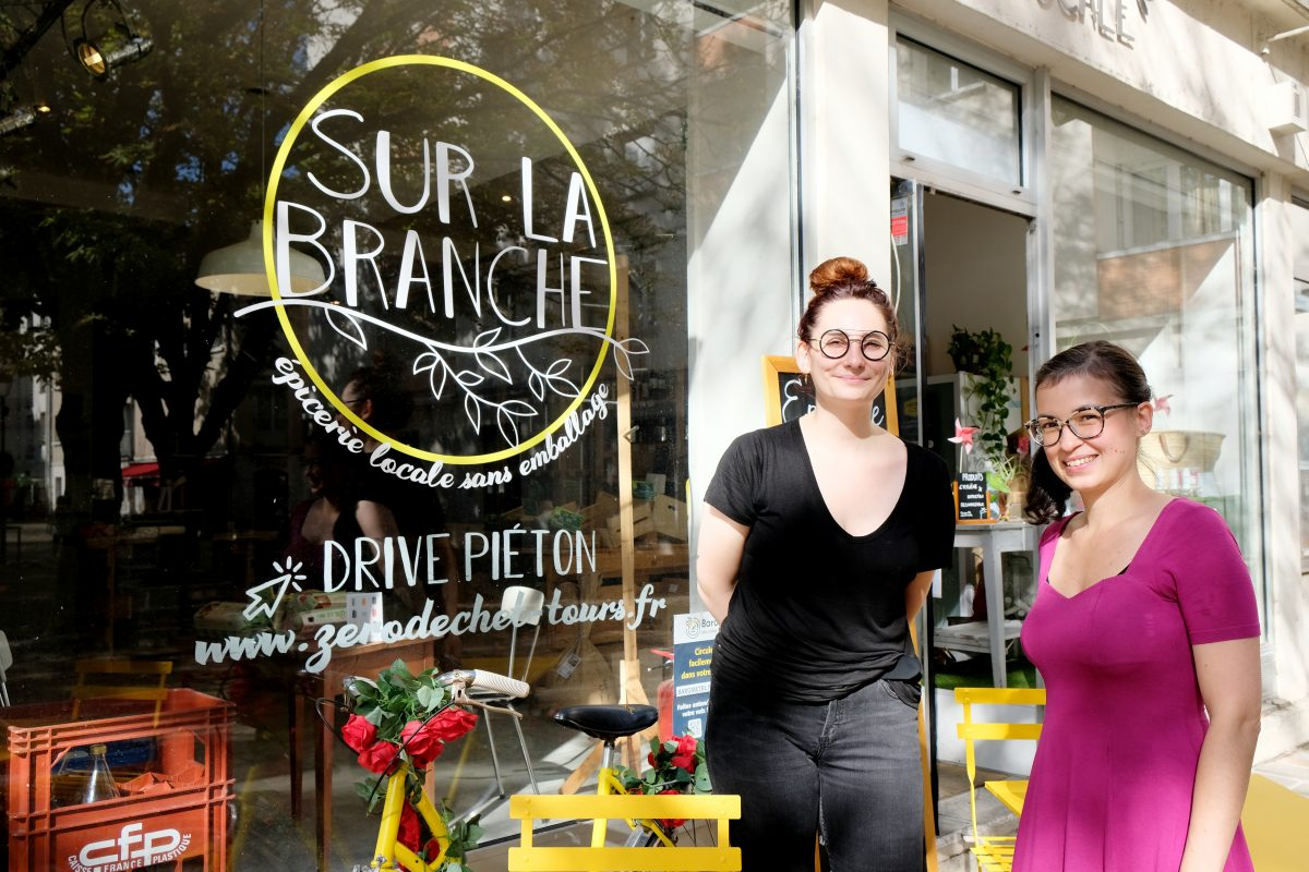Vrac, local et bio, le pari d'Anne-Gwénolée Tu et de son épicerie «Sur la branche»