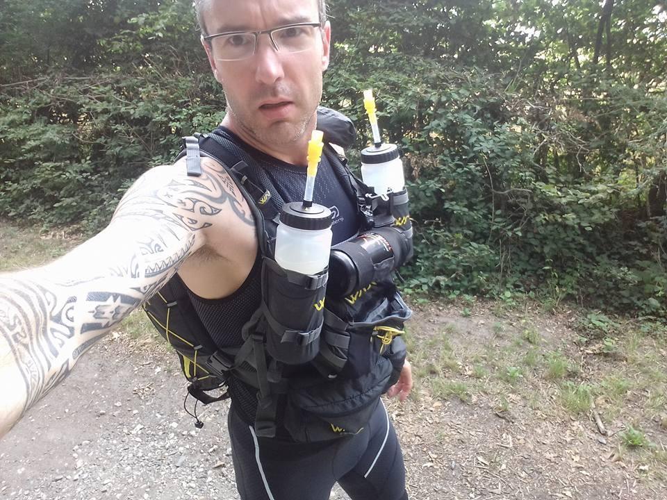 """Greg avait déjà tenté un """"petit"""" 300 km ! (Photo Facebook)"""