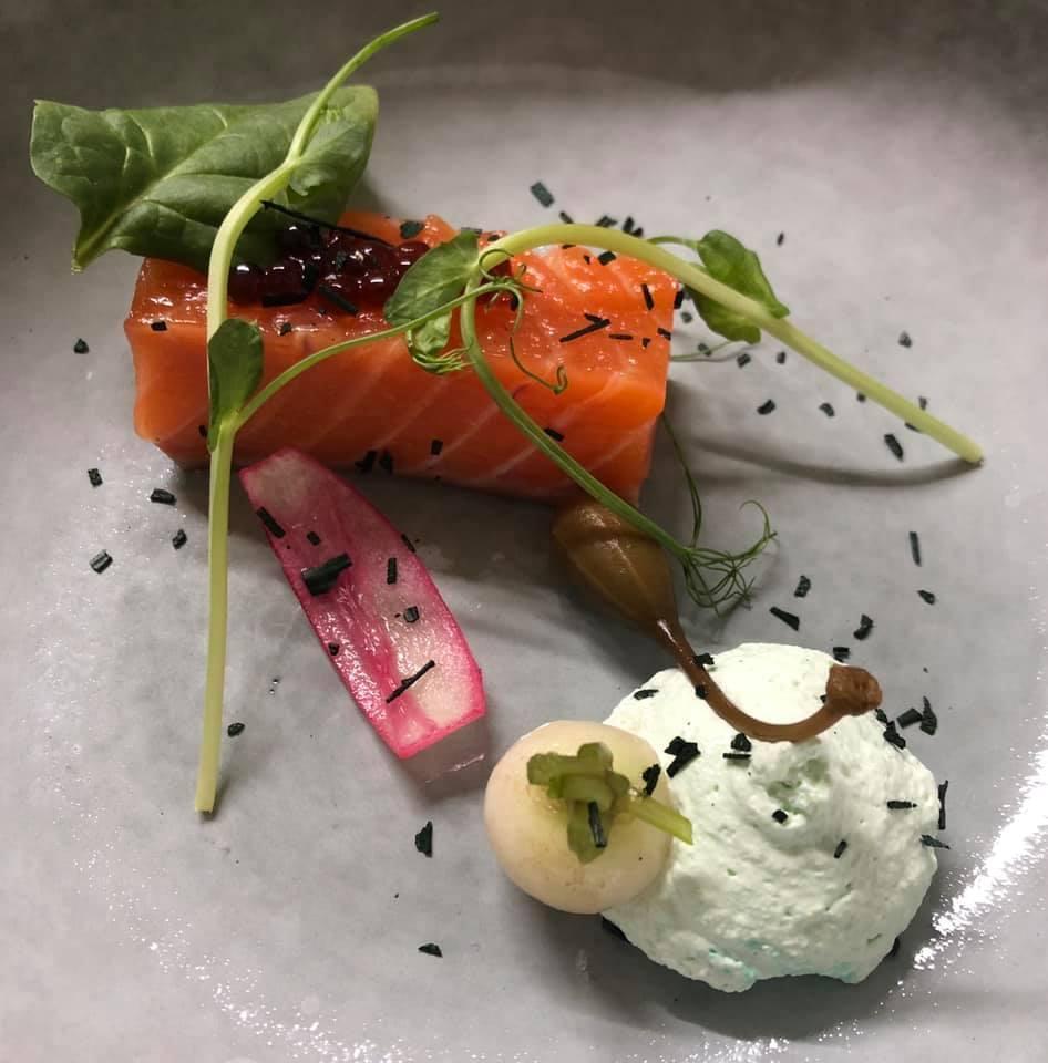 Un aperçu de l'esthétique des plats (photo Facebook Les Gens heureux)