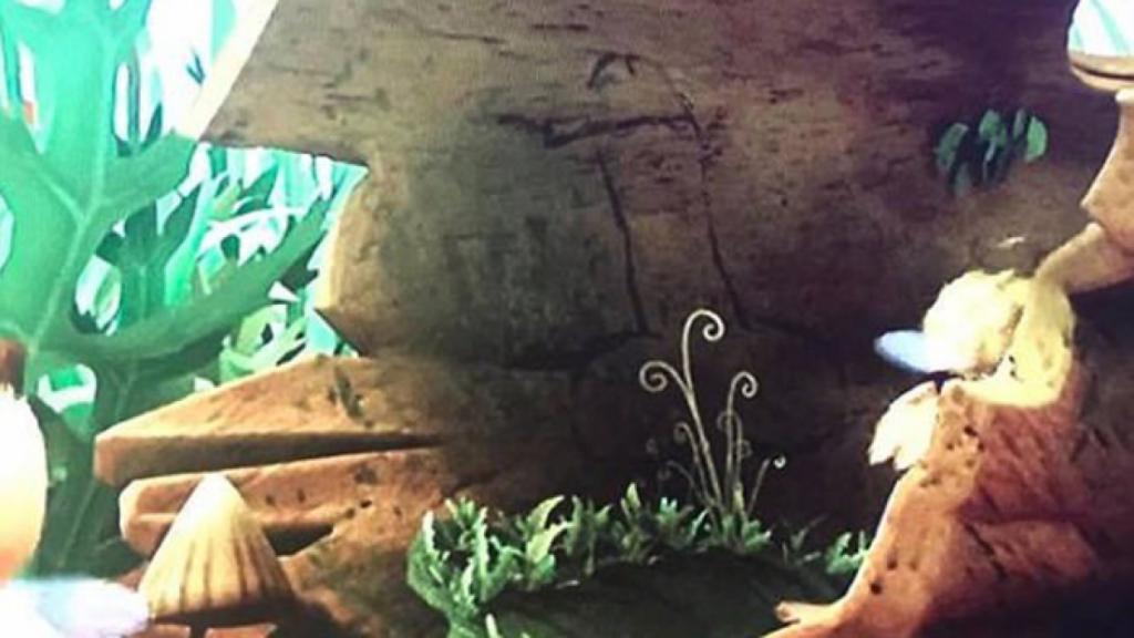 Capture d'écran de la scène maudite de Maya l'abeille.