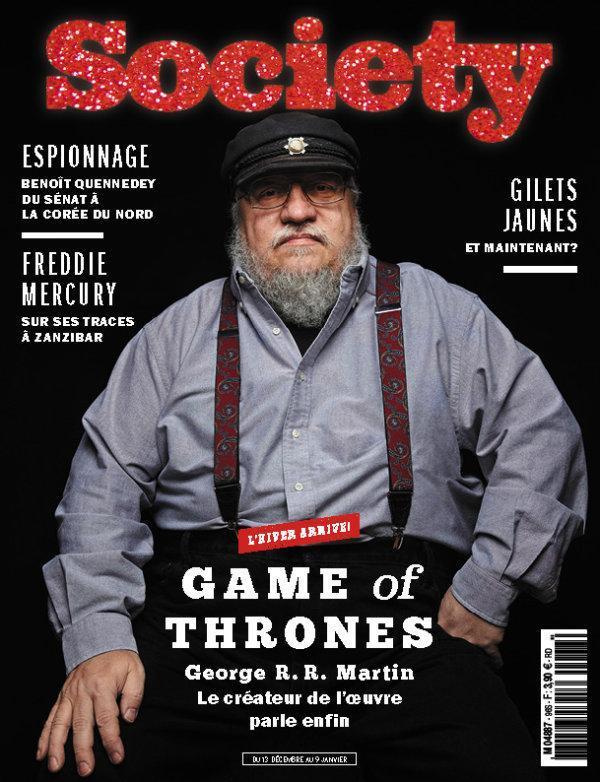 Le magazine Society a été fondé en 2015.