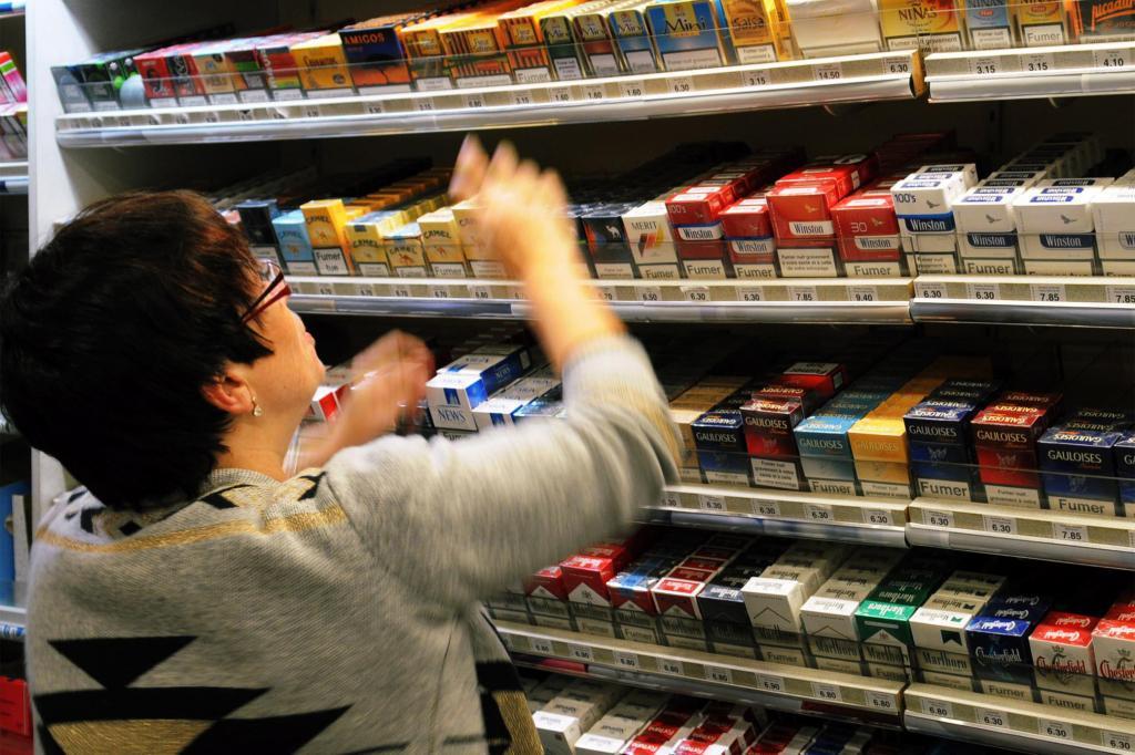 Plan anti-tabac.