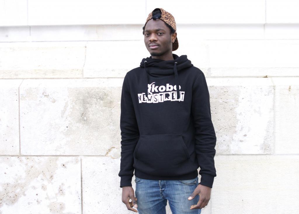 Son groupe, Kobo, compte aujourd'hui six danseurs : « Quand tu prouves ce que tu vaux, on te prend au sérieux. » (Photo tmv)