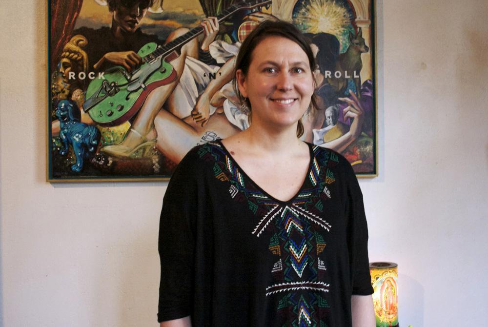 Alexandra Bielkin a décidé de se lancer dans une nouvelle activité (dans la santé) : « Je n'en dis pas plus, mais 2014, c'est vraiment mon année ! » (Photo tmv)