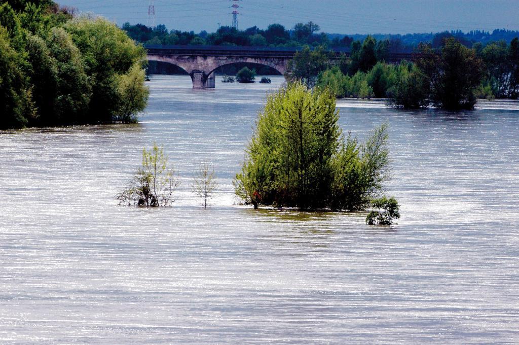 Inondations à Tours