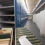 """100 000 documents sont archivés dans le """"magasin de conservation"""", au troisième étage (Photo E.S)"""