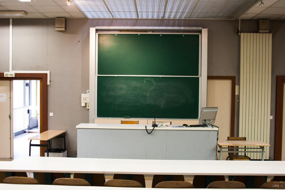 Mais où sont ces étudiants ?