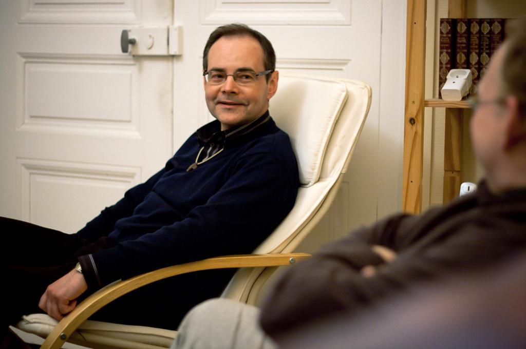 Le père Vincent Marik, toujours exalté, parle de sa vocation comme d'une « aventure ».
