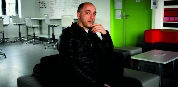 Didier Roudaut, président du Fun Lab de Tours