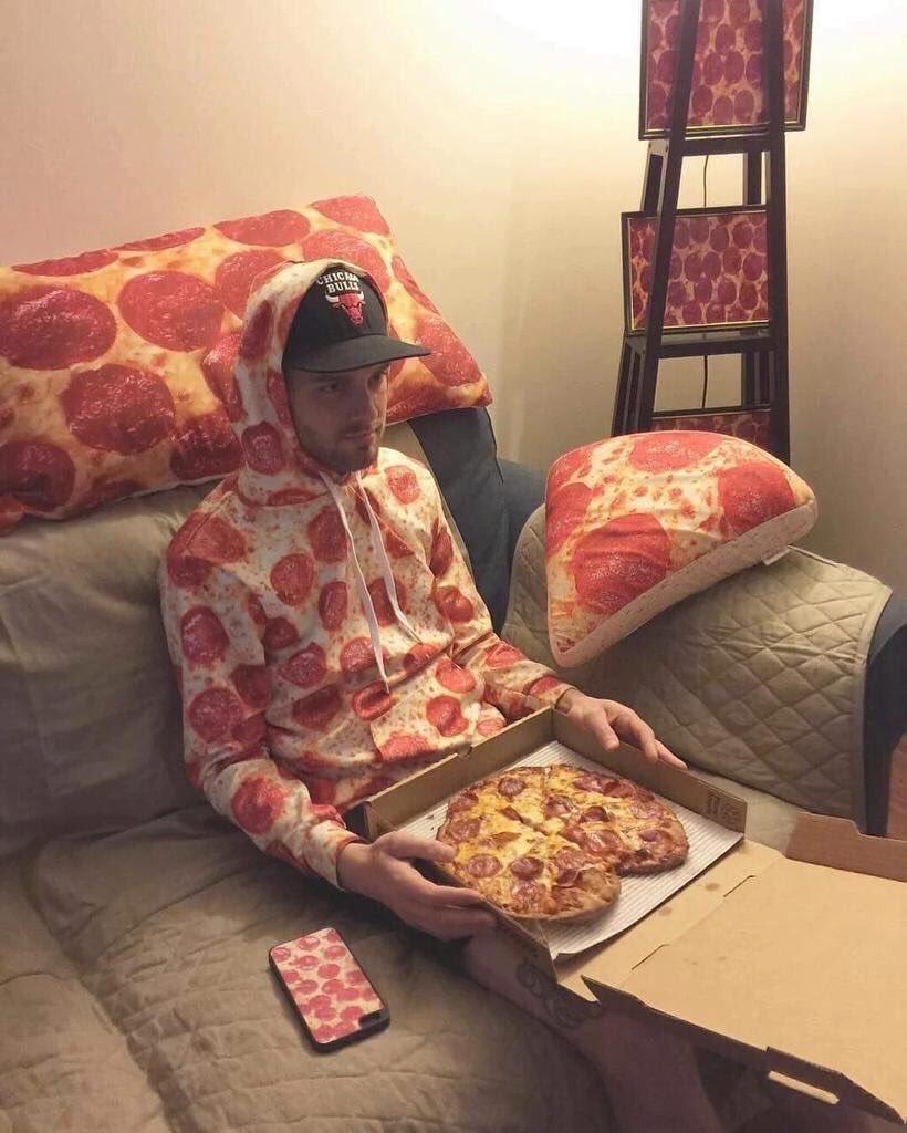 La pizza, c'est la vie.