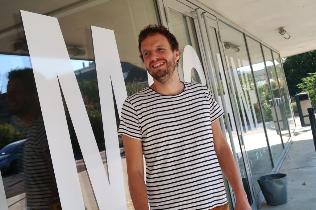 Odran Trumel, nouveau directeur de la salle Le Temps Machine. (Photo tmv)