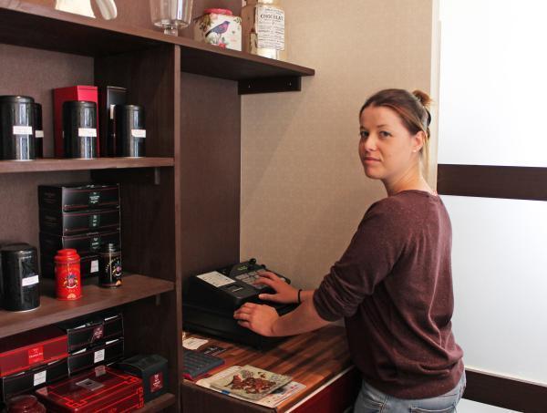 À 24 ans, Anne-Sophie Oger a ouvert son premier restaurant. (Photos tmv)