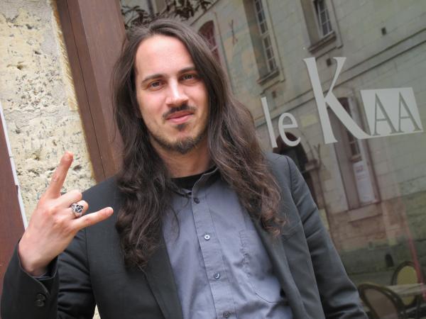 Corentin Charbonnier, docteur socio, mister Hellfest.