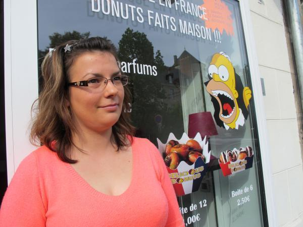 Du donut 100 % made in Tours, la classe à l'américaine. (Photos tmv)