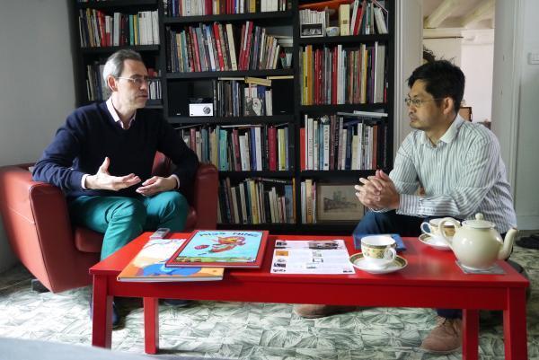 Les deux créateurs de HongFei Cultures.