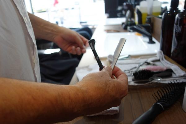 Le coupe-chou, outil emblèmatique des barbiers