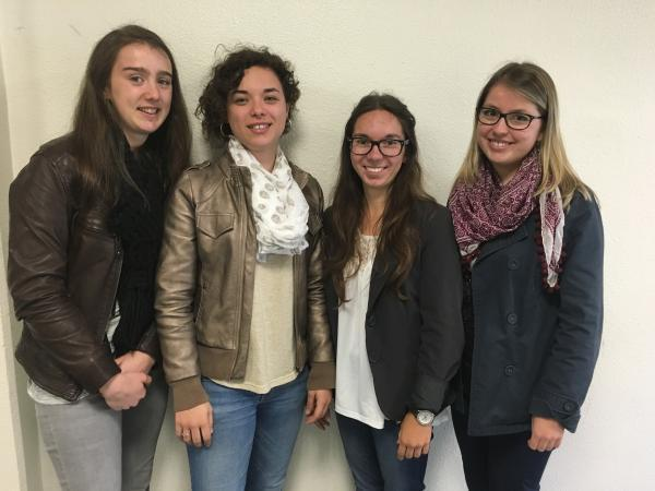 Caroline Barillet, Juliette Common, Gwenaëlle Foucault, Marine Fouquet.