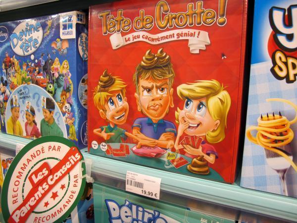Tête de crotte !, c'est « le jeu cacarrément génial ».