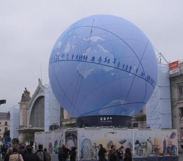 En juin 2015, Tours avait accueilli l'exposition itinérante ExpoFrance 2025.