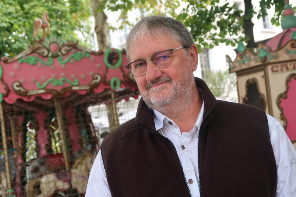 Philippe Septier, président du festival A Tours de Bulles.