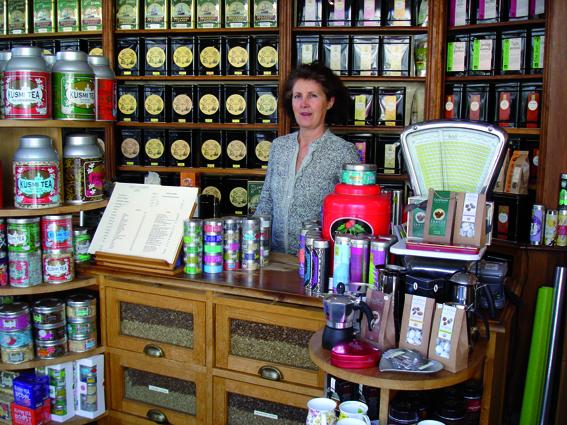 Le Salon de thé Scarlett