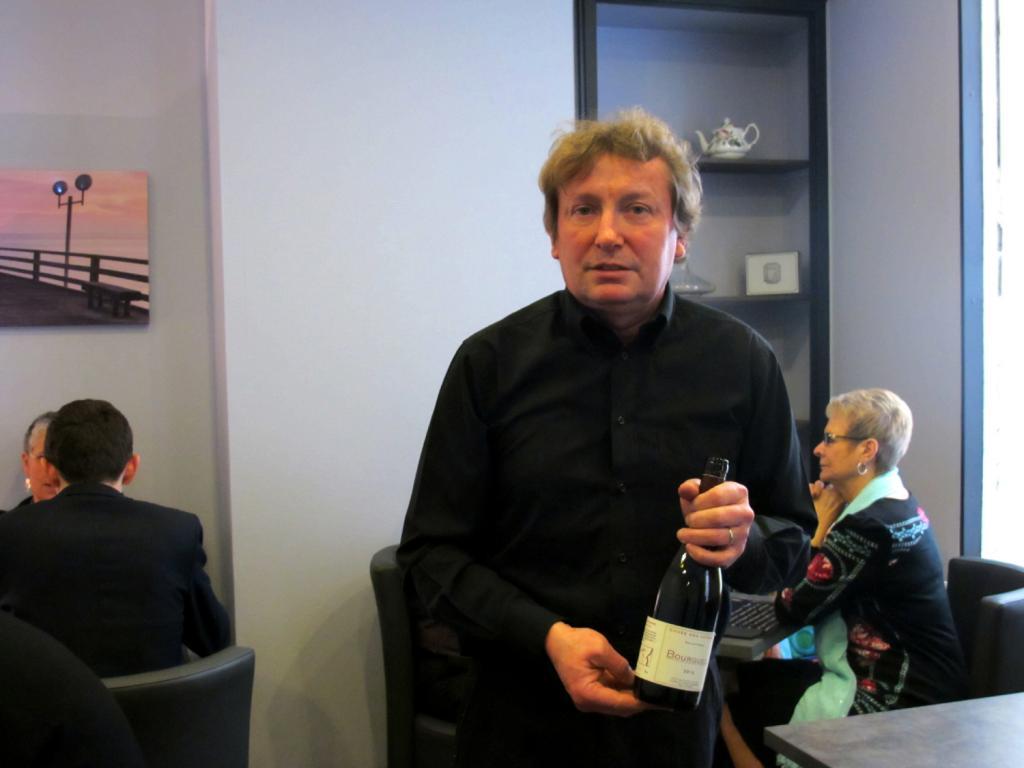 Philippe Marinier gère Le Cozy. Parfait pour une petite pause avant son train. (Photos tmv)