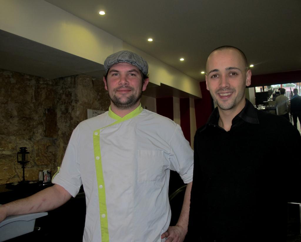 Julien et Antoine : « On veut créer de la convivialité. C'est un bistrot. » (Photos tmv)