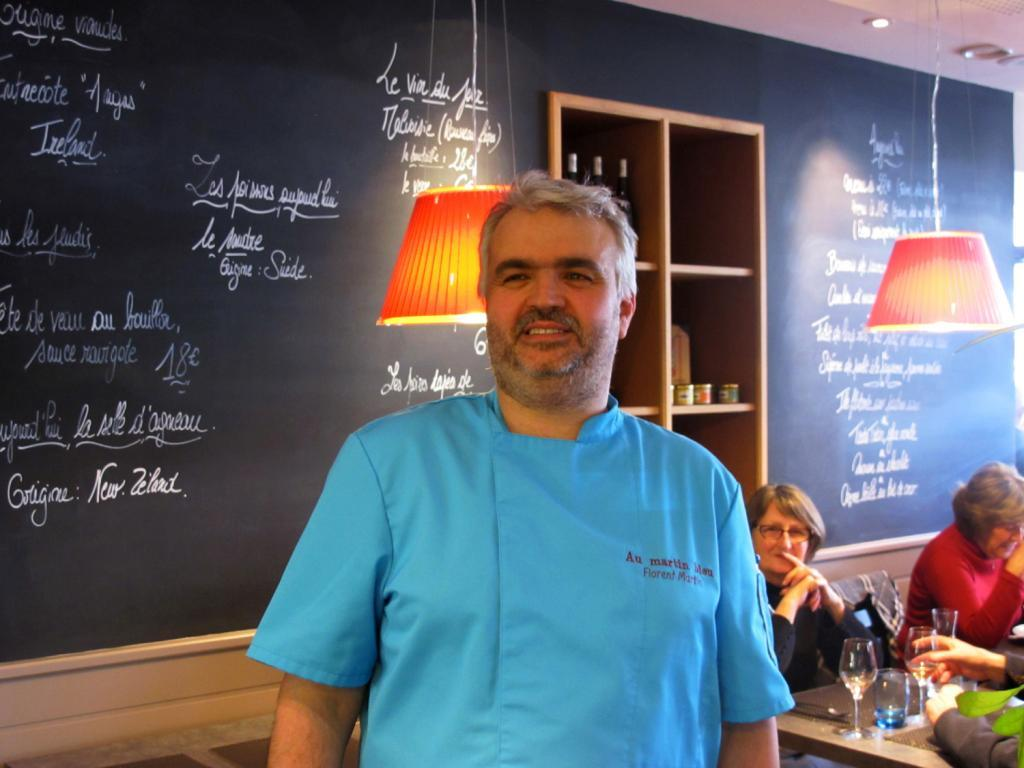 Depuis début mars, Florent Martin et son équipe font revivre Le Martin Bleu. (Photos tmv)