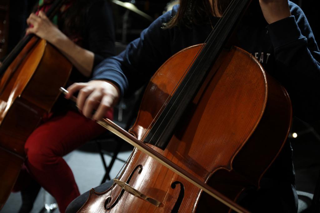 Avec le soundpainting, les élèves apprennent à utiliser toutes les possibilités de leur instrument.