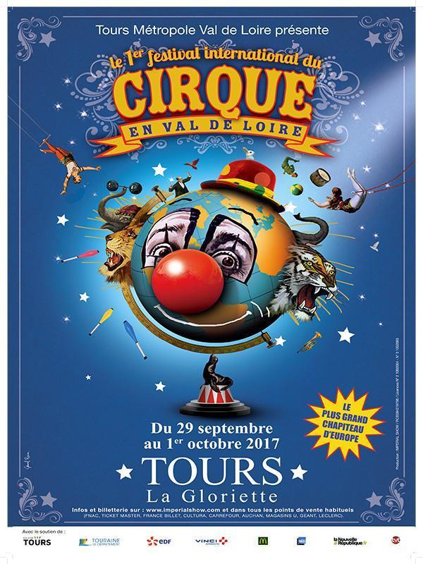 Le festival de cirque commence fin septembre.