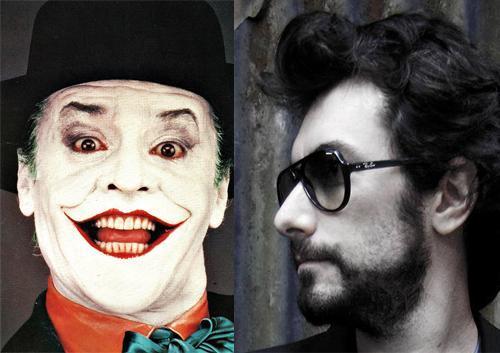 Nicolas Luquet (à droite) a avoué qu'il pourrait être le Joker joué par Jack Nicholson. Autant dire qu'on ne va pas le fâcher avec cet article.