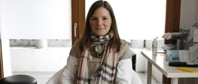 Marie-Ange Benoit, dans son cabinet. (Photo tmv)